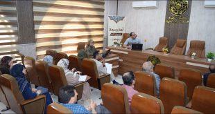 كلية العلوم تقيم ورشة عمل عن الاعتماد المؤسسي للجامعات العراقية