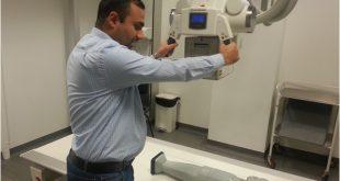 أداء الشخص المراقب (تحليل الدرجات المرئية- VGA) لجودة الصورة الشعاعية الطبية
