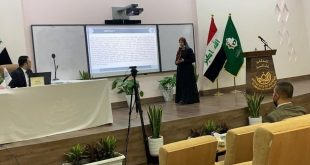 A lecturer at the Faculty of Science participates in the third international conference of Al-Kafeel University