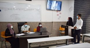 The Department of Physics discusses the research of the fourth stage students